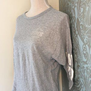 PINK by Victoria's Secret Grey Shirt